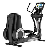 Life Fitness Platinum Club Discover SE Elliptical WiFi - Arctic Silver