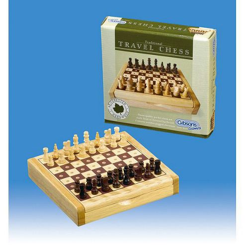 Gibsons G741 - Travel Chess Set