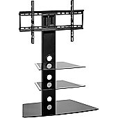 MMT CB55N Black Swivel Cantilever TV Stand