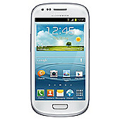 Tesco Mobile Samsung Galaxy SIII Mini White
