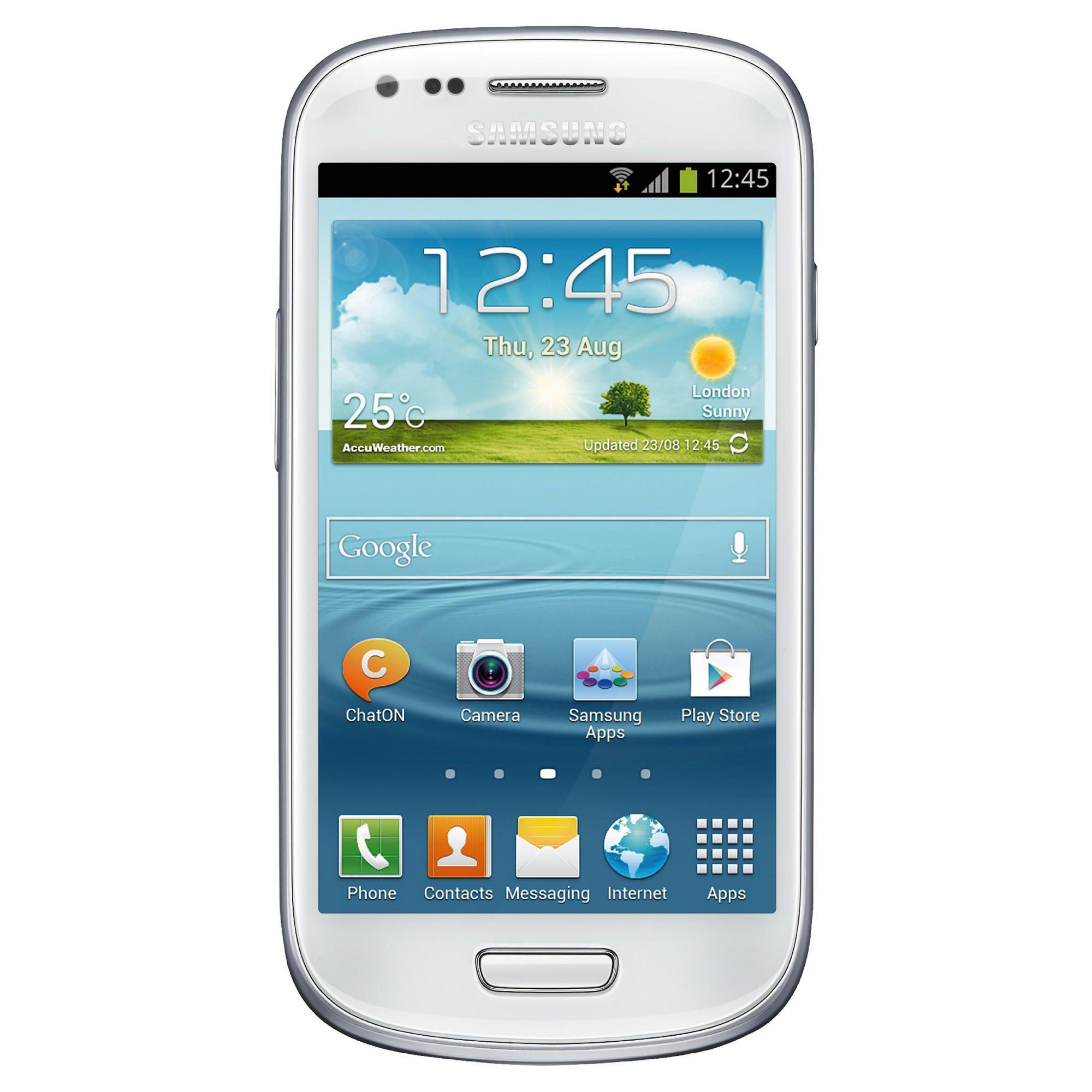 Tesco Mobile Samsung Galaxy SIII Mini White at Tesco Direct