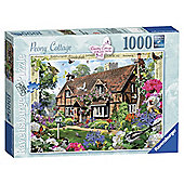 Ravensburger Country Collection Peony Cottage, 1000-Piece Jigsaw Puzzle