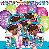 Doc McStuffins Party Pack For 8