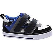 Heelys Dart Black/Blue/Grey/White Heely Shoe - Black