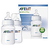 AVENT BOTTLE CLASSIC 260ML 2S