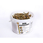 Concept XR Woodscrews M5.0 x 100mm Bulk Tub Qty 400