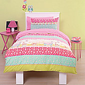 Sweet Dreams Girls Double Duvet Set With Pillowcases