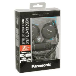 Panasonic RP-HC101E-K Noise Cancelling Super Slim