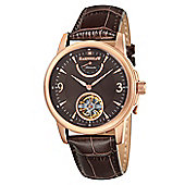 Thomas Earnshaw Flinders Mens Leather Exposed Mechanism Watch ES-8014-06
