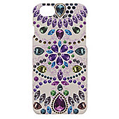 Tortoise™ Look Hard Protective Case, iPhone 6, Flower & Gem design, Multi.