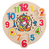 Bigjigs Toys BJ751 Clown Clock Puzzle