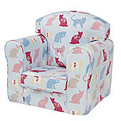 Children's Single Sofa Chair - Kitty Kat
