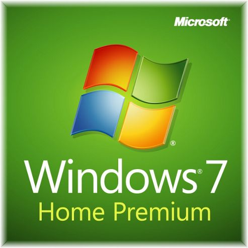 Microsoft Windows 7 Home Premium with Service Pack 1, 64-bit, English