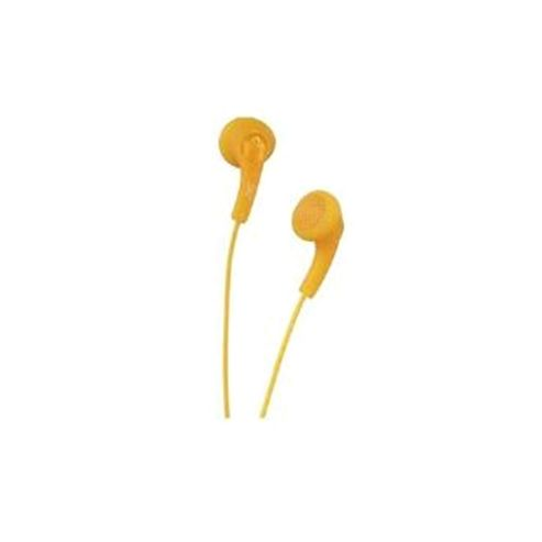 JVC HA-F140-DE In-Ear Gumy Headphones - Orange
