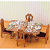 Dinner Party Set - Sylvanian Families Figures Dolls Furniture 4705