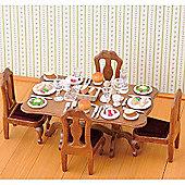 Dinner Party Set - Sylvanian Families Figures Dolls Furniture 4705