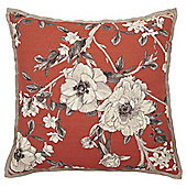 Floral Oxford Eedge Cushion