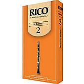 Rico Eb Clarinets Reeds - strength 2 (X25)