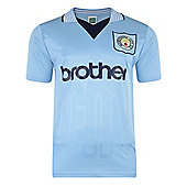 Manchester City 1996 Shirt - Blue