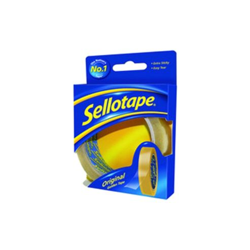 Sellotape Golden Tape 24mm x50 Metres 1443266