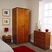 Elements Nordic 3 Piece Bedroom Collection - Pine