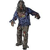 Adult Complete Zombie Halloween Costume