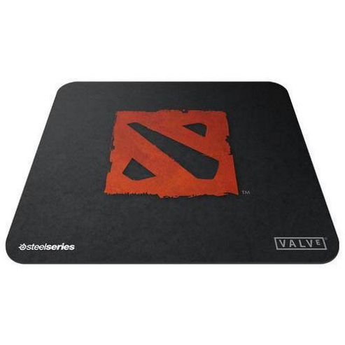 SteelSeries QcK+ DotA 2 Edition Mouse Pad Black