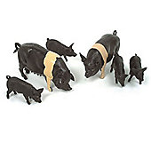 Saddleback Pigs - Scale 1:32 - Britains Farm