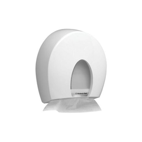 Aqua Folded Hand Towel Dispenser White 6973