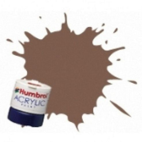 Humbrol Acrylic - 14ml - Matt - No186 - Brown