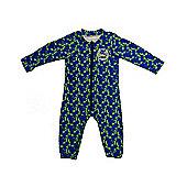 Jakabel UV Sun Protection Baby Romper - Blue Beach - Blue