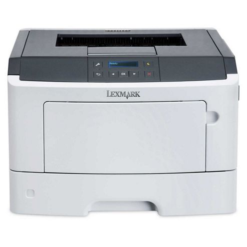 Lexmark MS410dn Mono Laser Printer 128MB 2-Line Monochrome LCD Display 38ppm (Mono)
