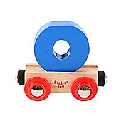 Bigjigs Rail BR115 Name Letter O (Colours Vary)