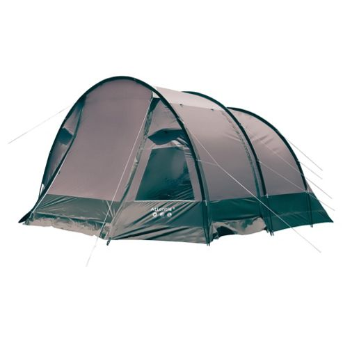 Gelert Atlantis 5-Man Tunnel Tent, Grey & Green