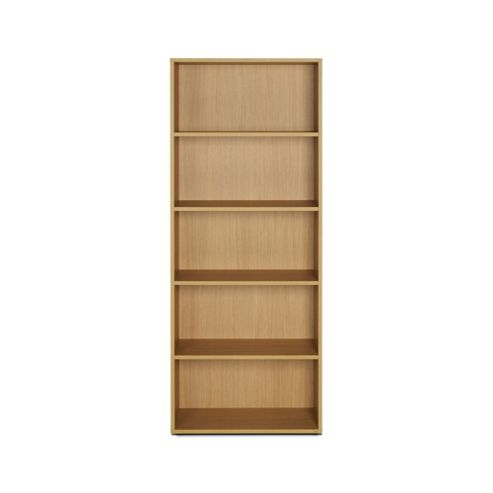 Didit Five Shelves Bookcase - Essential Oak Natural