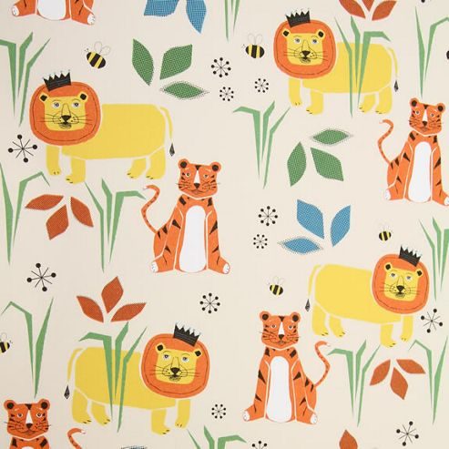 Rosehip Gift Wrap - Tiger and Lion