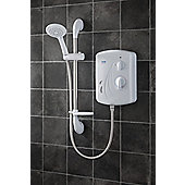 Triton Showers Seville 21 cm x 11 cm Electric Shower - 10.5 KW