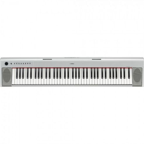 Yamaha NP31S Electronic Keyboard in Silver