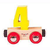 Bigjigs Rail BR134 Name Number 4 (Colours Vary)