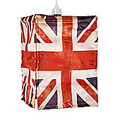 Vintage Union Jack Flag Ceiling Pendant Light Shade