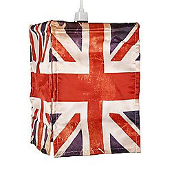 Vintage Union Jack Flag Ceiling Pendant Light Shade