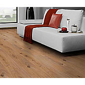 Westco 8mm V-Groove Prestige Oak Light Laminate Flooring - Pack Size: 2.13m2