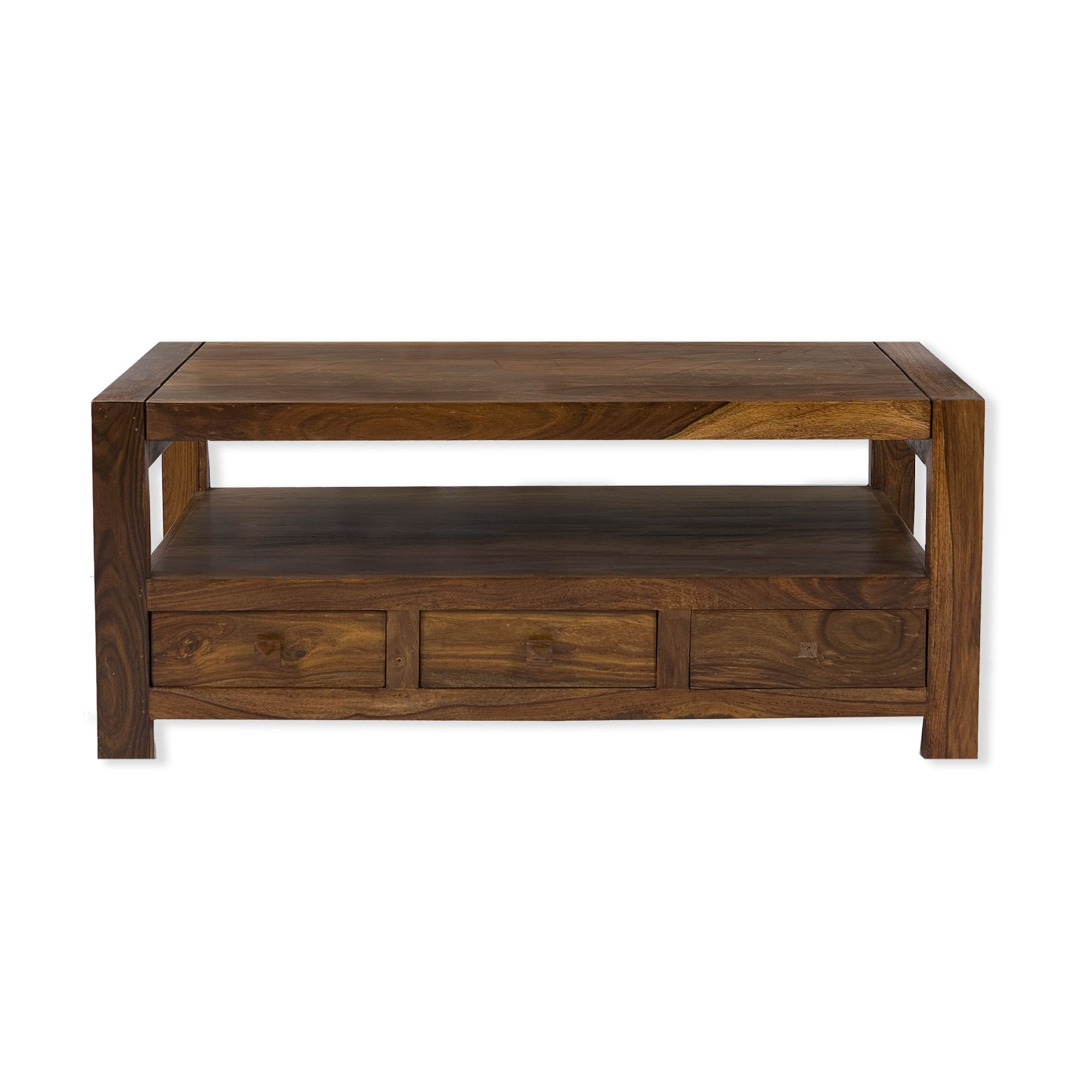 Elements Block Coffee Table in Warm Lacquer at Tesco Direct