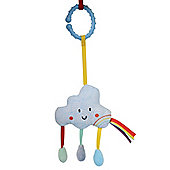East Coast Baby Sensory Say Hello Cloud Stroller Toy