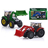 Classic Country 1:32 Vehicle Tractor And Digger