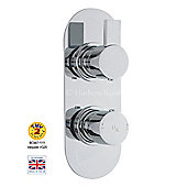 Hudson Reed Rapid Twin ConceaLED Thermostatic Shower Valve