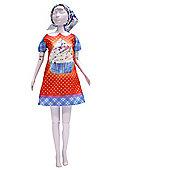 Dress your Doll Pattern - Twiggy Cupcake