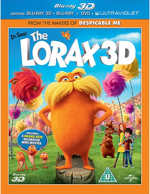 The Lorax (3D Blu-Ray)