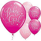 11' Baby Girl Stars (25pk)