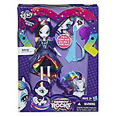 My Little Pony Equestria Girls Rainbow Rocks Doll and Pony Set Rarity - Dolls and Playsets